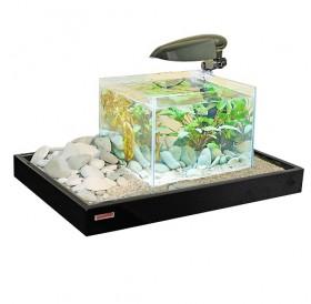 Croci Zen Artist Combi /аквариум с поставка за аквариум черна/-50x43x7см