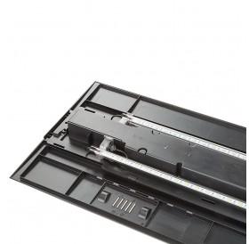 Ferplast Dubai 80 LED Black /Аквариум С Пълно Оборудване 125л/-81x36x51см