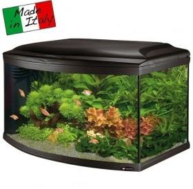 Ferplast Cayman 80 Scenic /аквариум със заоблено предно стъкло и пълно оборудване 150л/-81,5x46x52,5см