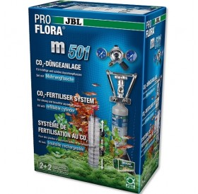 JBL ProFlora m501 /професионална CO₂ система с бутилка (500гр) за многократна употреба/