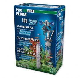 JBL ProFlora m502 /професионална CO₂ система с бутилка (500гр) за многократна употреба и електромагнитен клапан с нощно изключване/