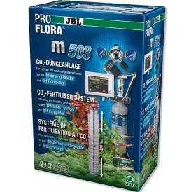 JBL ProFlora m503 /професионална CO₂ система с бутилка (500гр) за многократна употреба и контролер на рН/
