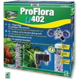 JBL ProFlora u402 /CO₂ система с бутилка (500гр) за еднократна употреба и електромагнитен клапан/