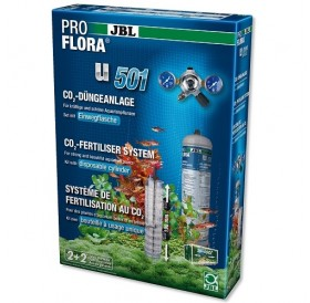 JBL ProFlora u501 /CO₂ система с бутилка (500гр) за еднократна употреба/