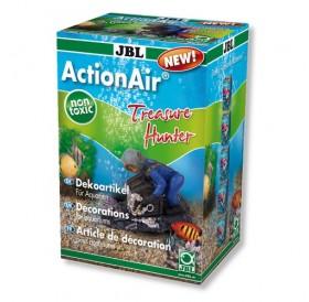 JBL ActionAir Treasure Hunter /декорация за морски аквариум водолаз със съндък и череп/