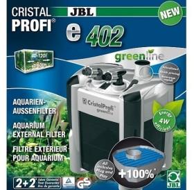 JBL CristalProfi e402 greenline /енергоспестяващ външен филтър за аквариуми до 120л/