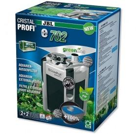 JBL CristalProfi e702 greenline /енергоспестяващ външен филтър за аквариуми до 200л/