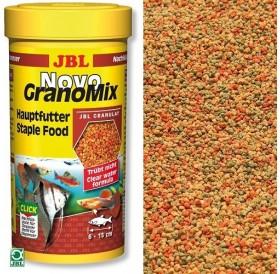 JBL NovoGranoMix /основна храна за аквариумни рибки/-250мл