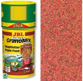 JBL NovoGranoMix Mini Click /храна за малки рибки в общ аквариум с дозатор/-100мл