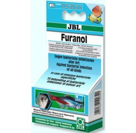 JBL Furanol Plus 250 /основно средство срещу вътрешни и външни бактериални инфекции/-20таб