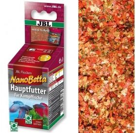 JBL NanoBetta /основна храна на люспи за бети и други бойни рибки в нано аквариум/-60мл
