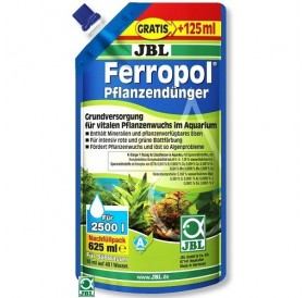 JBL Ferropol /основна течна тор за аквариумни растения с микроелементи/-625мл