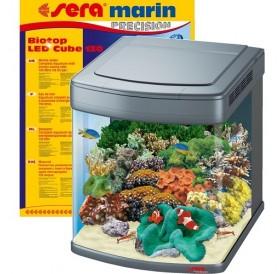 Sera Marin Biotop LED Cube 130 /напълно оборудван морски аквариум 130л/-51x58x62,6см