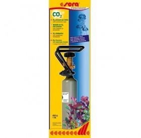 Sera® CO₂ Pressure Gas Bottle /стоманена бутилка с външен клапан/-450гр