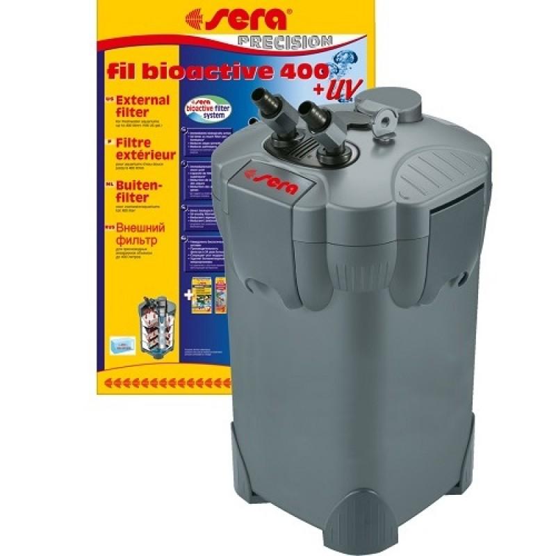 Sera® Fil Bioactive 400 + UV /външен филтър с вградена UV-C лампа за сладководни аквариуми до 400л/