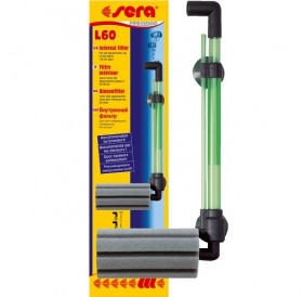 Sera® L 60 /вътрешен филтър с гъба със задвижване от помпа за въздух/