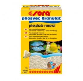 Sera Phosvec Granulat /дълготрайно премахване на фосфати/-500гр