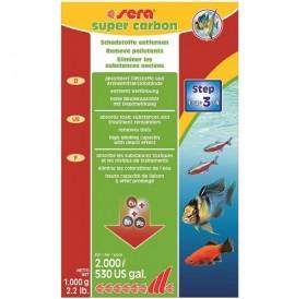 Sera Super Carbon /активен въглен за аквариуми до 2000л/-1кг