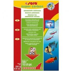 Sera Super Carbon /активен въглен за аквариуми до 500л/-250гр