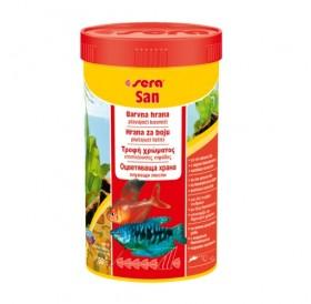 Sera San /оцветяваща храна на люспи/-100мл