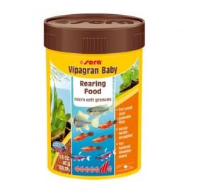 Sera Vipagran Baby /гранулирана храна за рибки под 4 см/-100мл