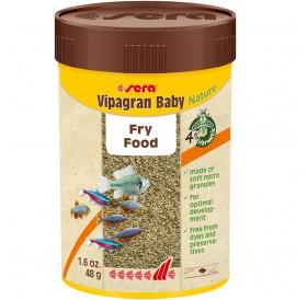 Sera Vipagran Baby Nature /гранулирана храна за рибки под 4 см/-50мл