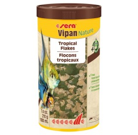 Sera Vipan Nature /Основна Храна На Люспи За Всички Декоративни Рибки/-1л
