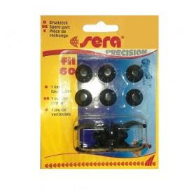 Sera® Suction Cups for Sera Fil 60 /комплект резервни вакумчета за вътрешен филтър на Sera модел Fil 60/