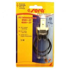Sera® UV-C Lamp 5W for Sera Fil Bioactive 250/400 + UV /UV-C лампа за външен филтър на Sera модели Fil Bioactive 250/400 + UV/