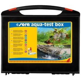 Sera® Aqua-Test Box /тестов комплект за анализ на различни показатели на водата в аквариуми и езера/