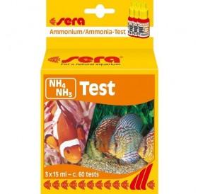 Sera® NH₄ NH₃ Test /тест за измерване нивото на амоний/амоняк (NH₄ NH₃)/-3х15мл