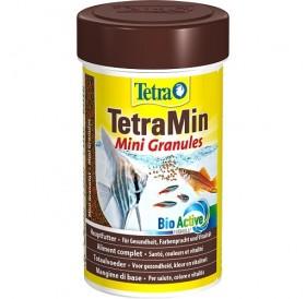 TetraMin Mini Granules /основна храна за аквариумни рибки/-100мл