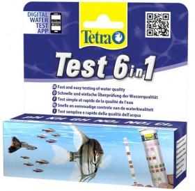 Tetra Test 6in1 /тест ленти за 6 показателя на аквариумната вода/-25бр