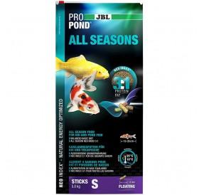 JBL ProPond All Seasons S /Целогодишна Храна На Гранули За Езерни Рибки/-32л