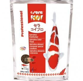 Sera KOI Professional Spirulina Color Food /Професионална Храна За Кои За Перфектни Цветове И Идеален Растеж/-2,2кг