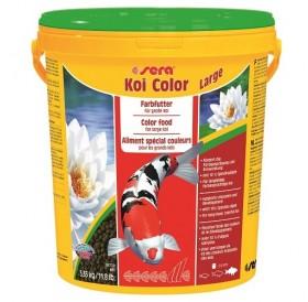 Sera Koi Color Large /оцветяваща храна за жизнени Кои/-21л