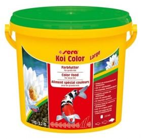 Sera Koi Color Large /оцветяваща храна за жизнени Кои/-3,8л