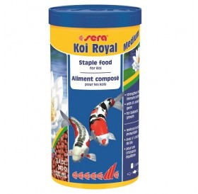 Sera Koi Royal Мedium /основна храна за Кои/-1л