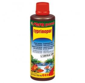 Sera Pond Cyprinopur /препарат срещу бактерии и паразити в езерото/-250мл
