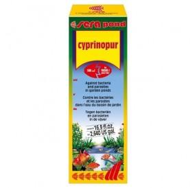 Sera Pond Cyprinopur /препарат срещу бактерии и паразити в езерото/-500мл