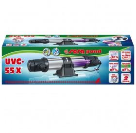 Sera Pond UVC-55 X /UVC Система За Пречистване На Езера Морски И Сладководни Аквариуми/-55W