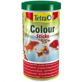 Tetra Pond Colour Sticks /храна за подсилване цветовете на езерните рибки/-1000мл