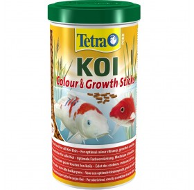 Tetra Pond Koi Colour&Growth Sticks /Основна Храна За Кои/-1л