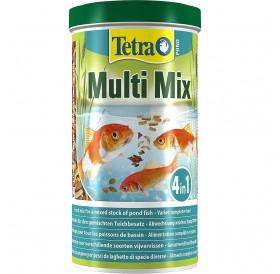 Tetra Pond Multi Mix /Основна Храна За Езерни Рибки/-1л