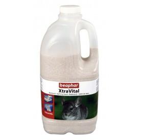 Beaphar XtraVital Chinchilla Bathing Sand /пясък за баня на чинчила/-1,3кг