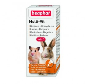 Beaphar Multi Vit Small Animals /мултивитамини за дребни животни/-20мл