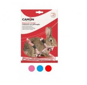 Camon Rabbit Set /текстилен повод с нагръдник за зайче/-0,8x120см
