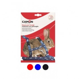 Camon® Rabbit Set /текстилен повод с нагръдник за зайче/-0,8x120см