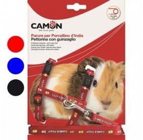 Camon® Set for Guinea Pigs /текстилен повод с нагръдник за морско свинче/-1x120см