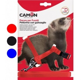 Camon® Set for Ferrets /текстилен повод с нагръдник за порче/-1,5x180см